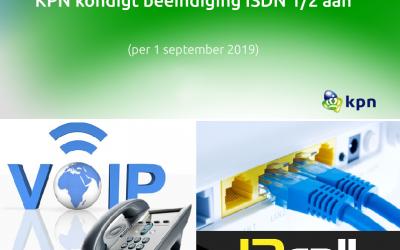 ISDN gaat stoppen maar beslis niet te snel